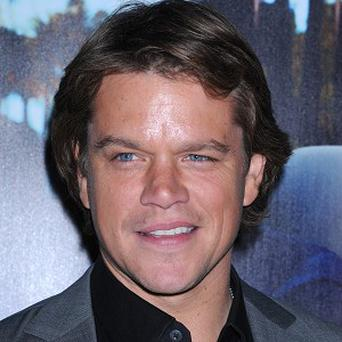 Matt Damon locks lips with Michael Douglas in a new film
