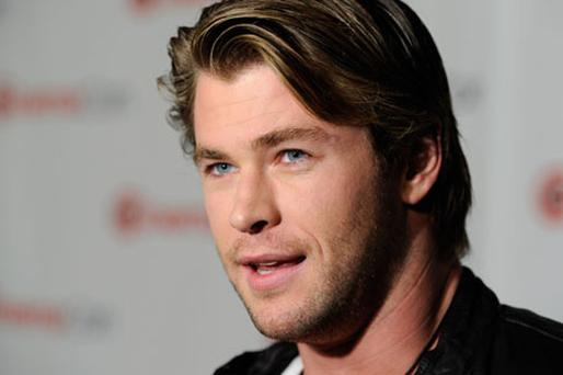 Chris Hemsworth is receiving an award for being the male star 'of tomorrow'. Photo: Getty Images
