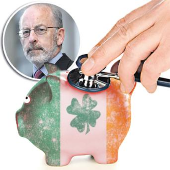 Ireland was unlucky, that the sovereign crisis came out of left field and doomed the first round of stress tests to failure before they'd really had a chance to prove their worth -- Patrick Honohan Central Bank Governor