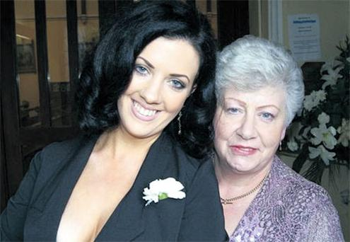 Mum's the word: Deirdre Reynolds and her mother