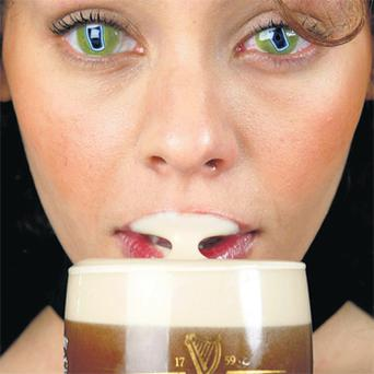 Guinness has been advertising more or less constantly in Ireland since 1928