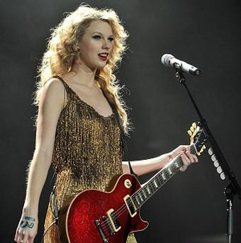 Taylor Swift performs on the last night of her European Tour at London's O2 Arena