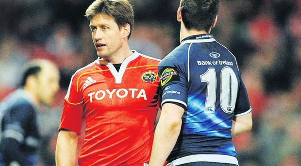 The clash between out-halves Ronan O'Gara and Jonny Sexton will be an interesting sub-plot to tonight's game.