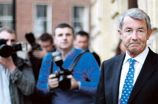 Justice: Lowry feels damaged by the report – but still needs to consider his position