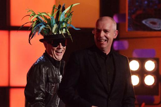 Neil Tennant (right) and Chris Lowe of The Pet Shop Boys. Photo: PA