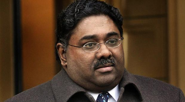 Raj Rajaratnam, the Galleon Group co-founder. Photo: Getty Images