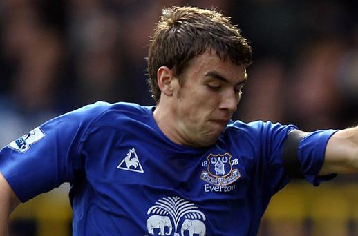 Everton's Seamus Coleman Photo: Getty Images