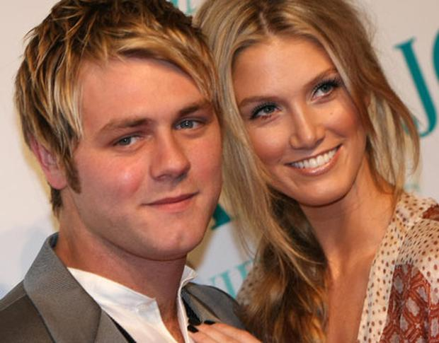 ROOM TO BREATHE: Brian McFadden and Delta Goodrem announced their split last week