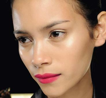 Hideously bright pinks as seen at Diane Von Fustenberg. Image courtesy of MAC cosmetics