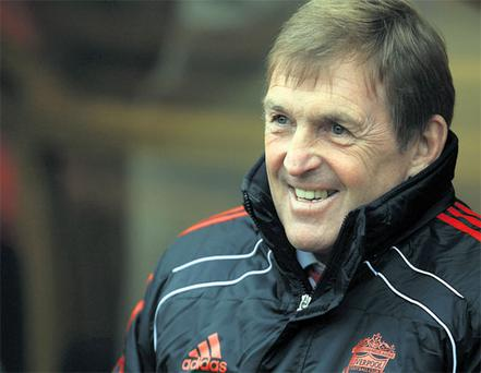 Kenny Dalglish is well satisfied with his players' efforts as he works to get Liverpool back challenging for honours.