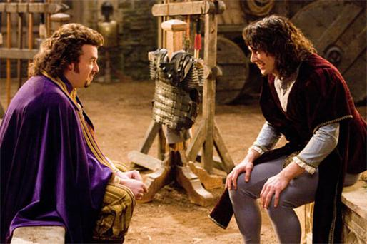 FABIOUS FRANCO: James Franco and Danny McBride (left) play brothers on a rescue mission in Your Highness