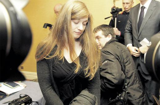 Jerrie Anne Sullivan, one of the women at the centre of the garda 'rape tape' affair. Photo: Niall Carson/PA