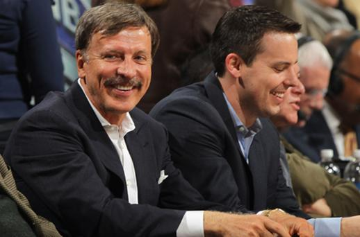 Closing in: Stan Kroenke is finally poised to launch full takeover of Arsenal after agreeing deals to increase his shareholding to 62pc. Photo: Getty Images