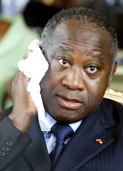 Laurent Gbagbo was handed over to democratically elected leader Alassane Ouattara following his capture. Photo: Getty Images