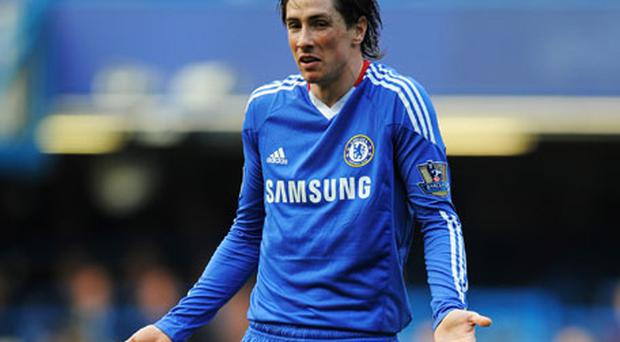 Fernando Torres's loss of pace raises questions about his recovery from injury. Photo: Getty Images