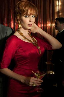 Mad Men's Joan Harris. Image courtesy of Lionsgate Home Entertainment. Mad Men Season 4 and the Mad Men Complete Collection Seasons 1 – 4 are available on DVD and Blu-ray now