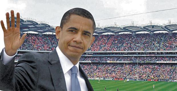 US President Barack Obama is expected to speak at Croke Park