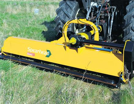Spearhead's R270 shreds grass, scrub and rushes