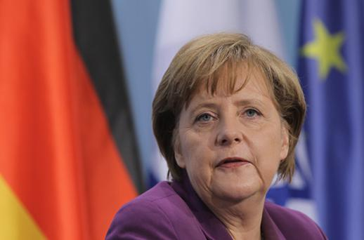 German Chancellor Angela Merkel: economy robust. Photo: Getty Images