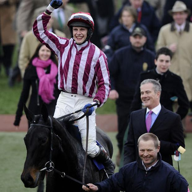 Cheltenham Festival winner What A Charm ridden by Paul Townend. Photo: Getty Images