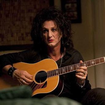 Sean Penn plays former rock star Cheyenne in This Must Be The Place