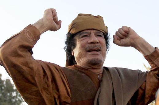 Muammar Gaddafi. Photo: Reuters