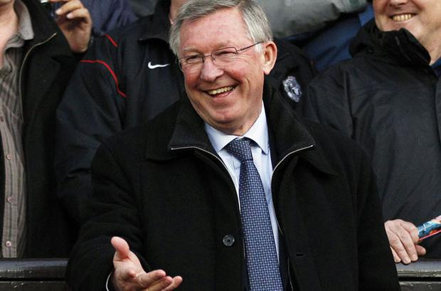 Alex Ferguson. Photo: Reuters