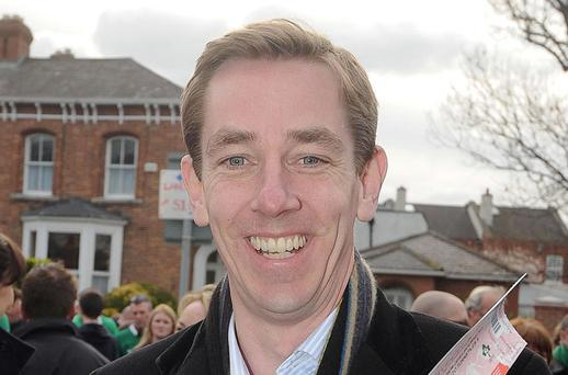 Ryan Tubridy. Photo: Damien Eagers