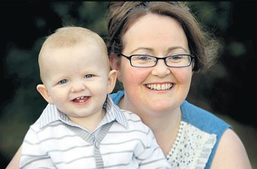 Melissa Redmond was mistakenly told she had miscarried her son Michael, who is now one year old