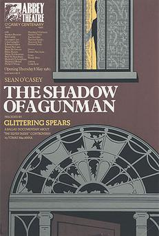 An Abbey Theatre posters that is on display at the Pearse Museum in Rathfarnham, Co Dublin, until June 6