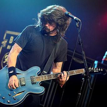 Foo Fighters are due to topple Adele from the Number One spot