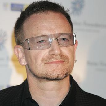 Bono suffered a back injury ahead of last year's Glastonbury festival