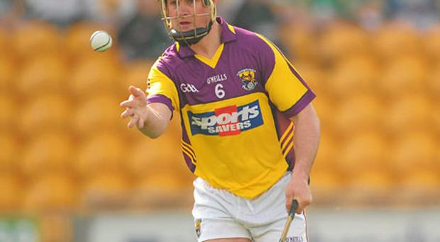 Darren Stamp turned down a job in London to continue hurling with Wexford.