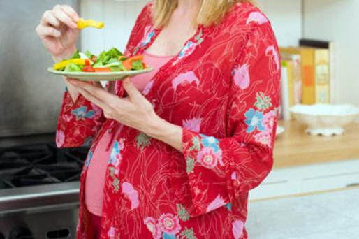 'A mother's nutrition while pregnant can cause important epigenetic changes that contribute to her offspring's risk of obesity during childhood.' Photo: Thinkstockphotos.com