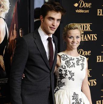 Robert Pattinson and Reese Witherspoon at the New York premiere of Water For Elephants