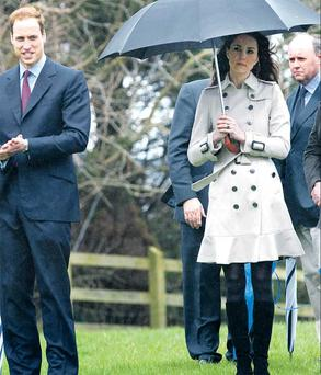 William and Kate's luke warm stance in public