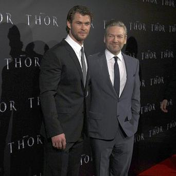 Kenneth Branagh reckons Chris Hemsworth was the perfect choice for Thor