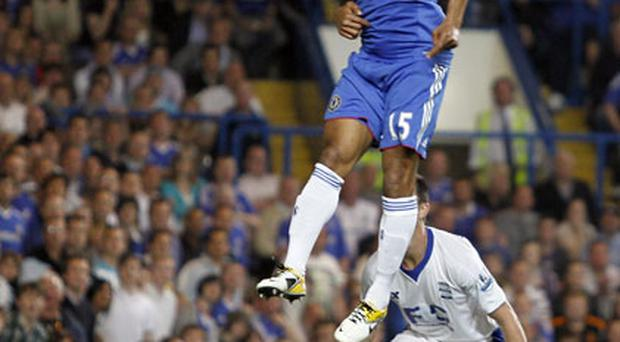Florent Malouda scores his second goal against Birmingham City. Photo: Getty Images
