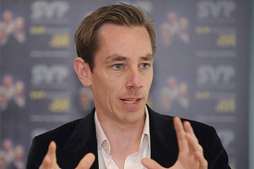 Ryan Tubridy: involved in queen's visit