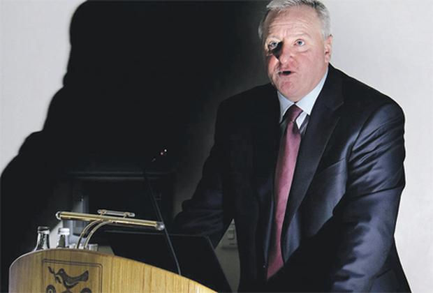 Colm Doherty, former AIB chief