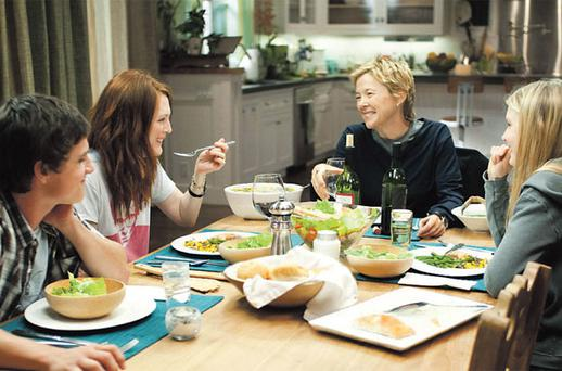 In the film 'The Kids Are All Right', a lesbian couple's children (conceived by artificial insemination) meet their birth father
