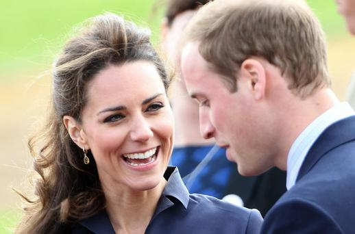 Prince William and Kate Middleton. Photo: Getty Images