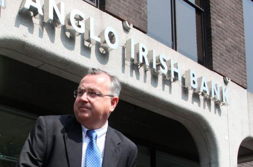 Anglo irish Bank Group CEO Mike Aynsley. Photo: Collins