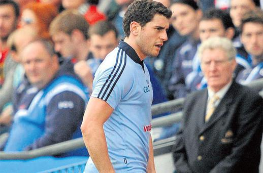 Bernard Brogan's departure with a hamstring strain after 50 minutes exposed some weaknesses in Dublin's squad