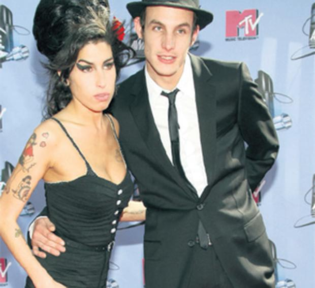 Back to Blake: Amy Winehouse and Blake Fielder-Civil married in 2007 but broke up a year later, only to get back together and break up again