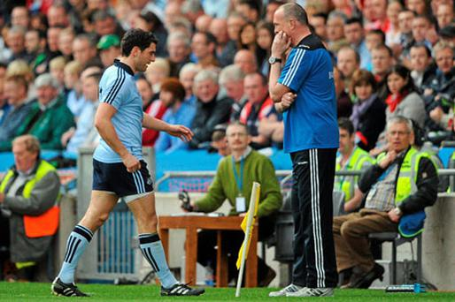 49 Bernard Brogan withdraws injured