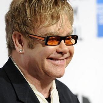 Singer Elton John attends the world premiere of The Union at the Tribeca Film Festival (AP)