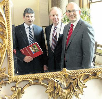 Dairygold bosses Michael Harte, chief financial officer; Vincent Buckley, chairman; and Jim Woulfe, chief executive, take an alternative look at the company's annual results, which saw the co-op announce an operating profit of €18.9m for last year