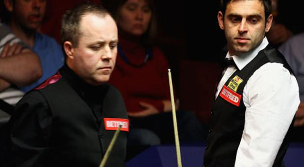 Inseparable: Higgins and O'Sullivan. Photo: Getty Images