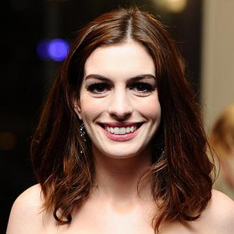 Anne Hathaway stars in the new animated movie Rio